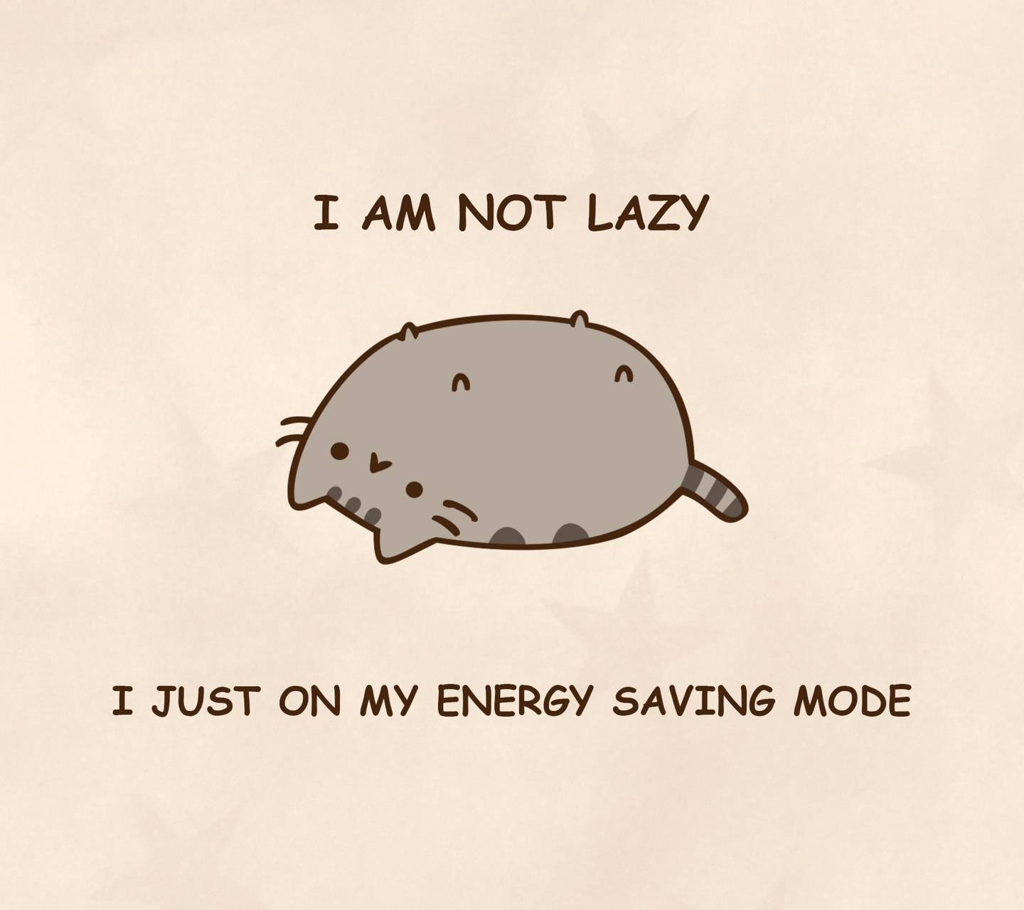 I Am Not Lazy