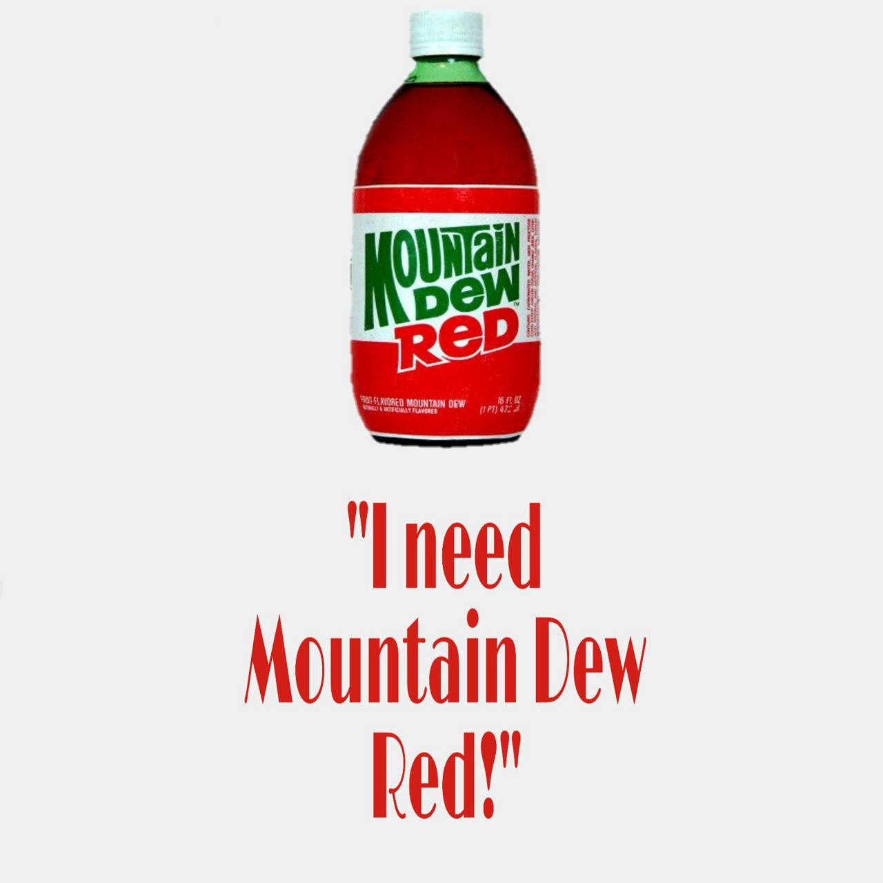 Moutain Dew Red