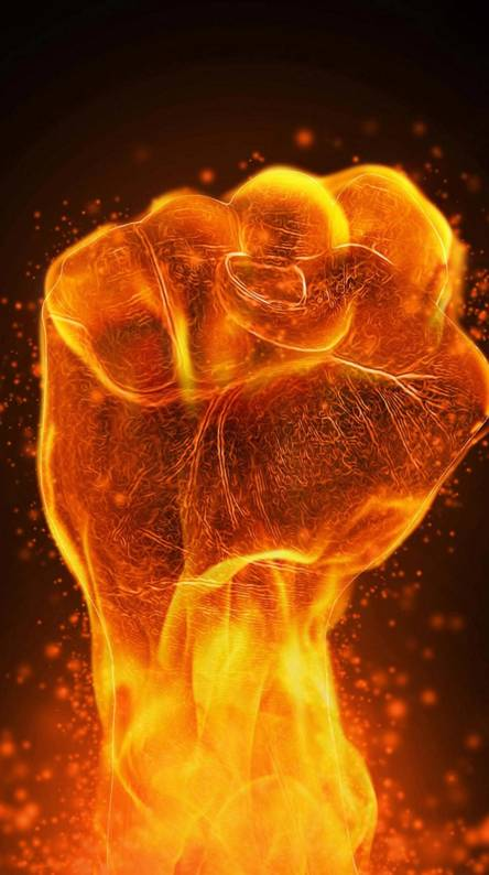 Flame fist