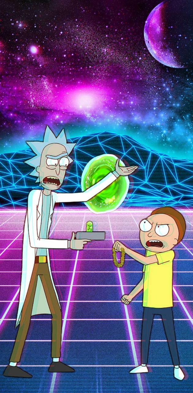 Rad Rick and Morty