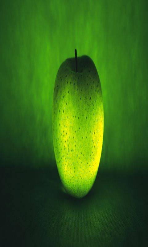 Neon Green Apple
