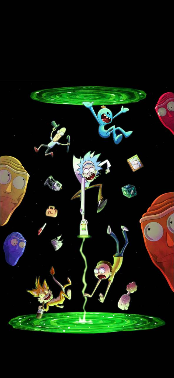 Rick and Morty oled