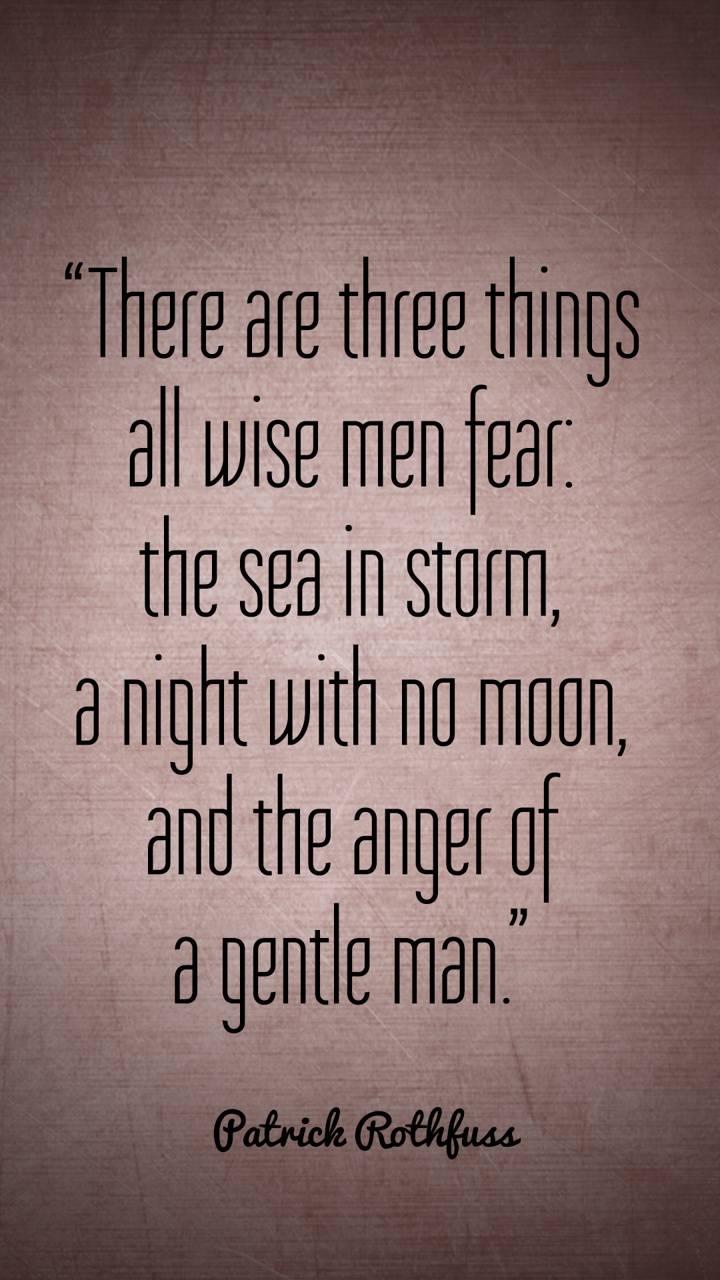 Wise Men Fear