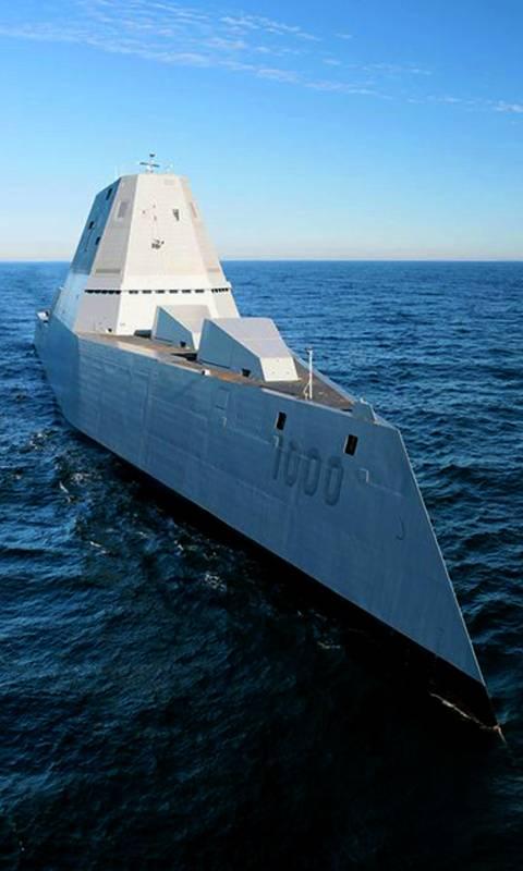 Navy Zumwalt class