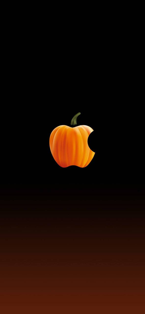 Apple Logo-Hallowen