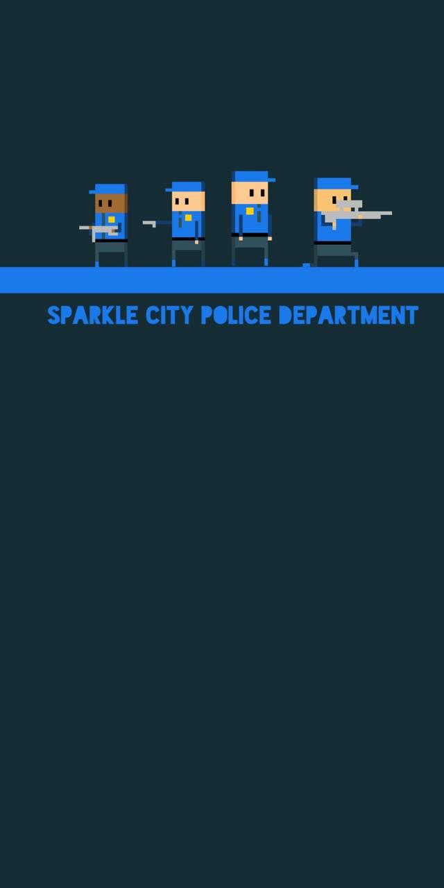 SCPD thin blue line