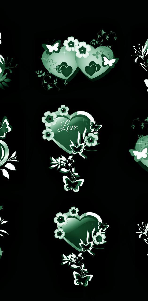 Hearts Butterfly 10