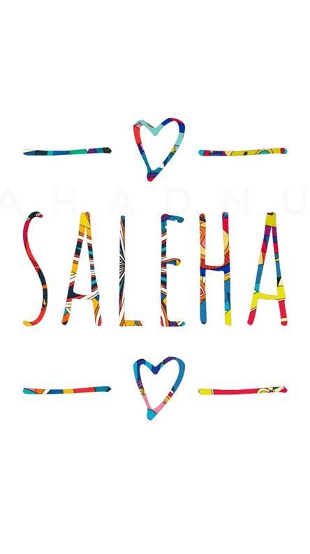 Saleha - Name Art
