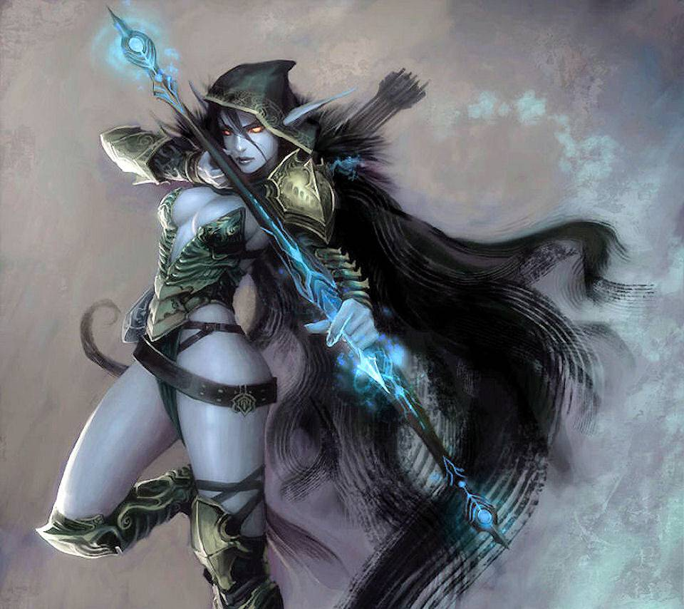 Traxex Drow Ranger Wallpaper By Draccoburn F7 Free On Zedge