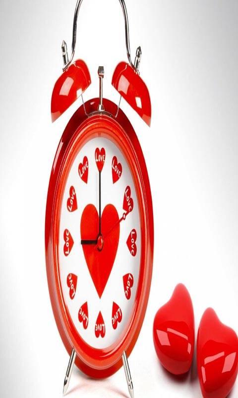Love Heart Clock