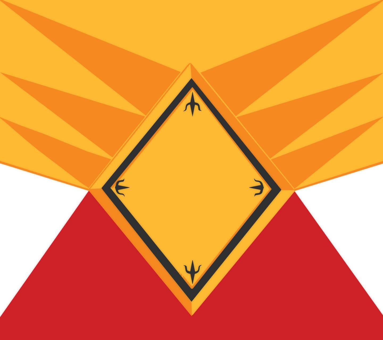 Shielded Red Ranger
