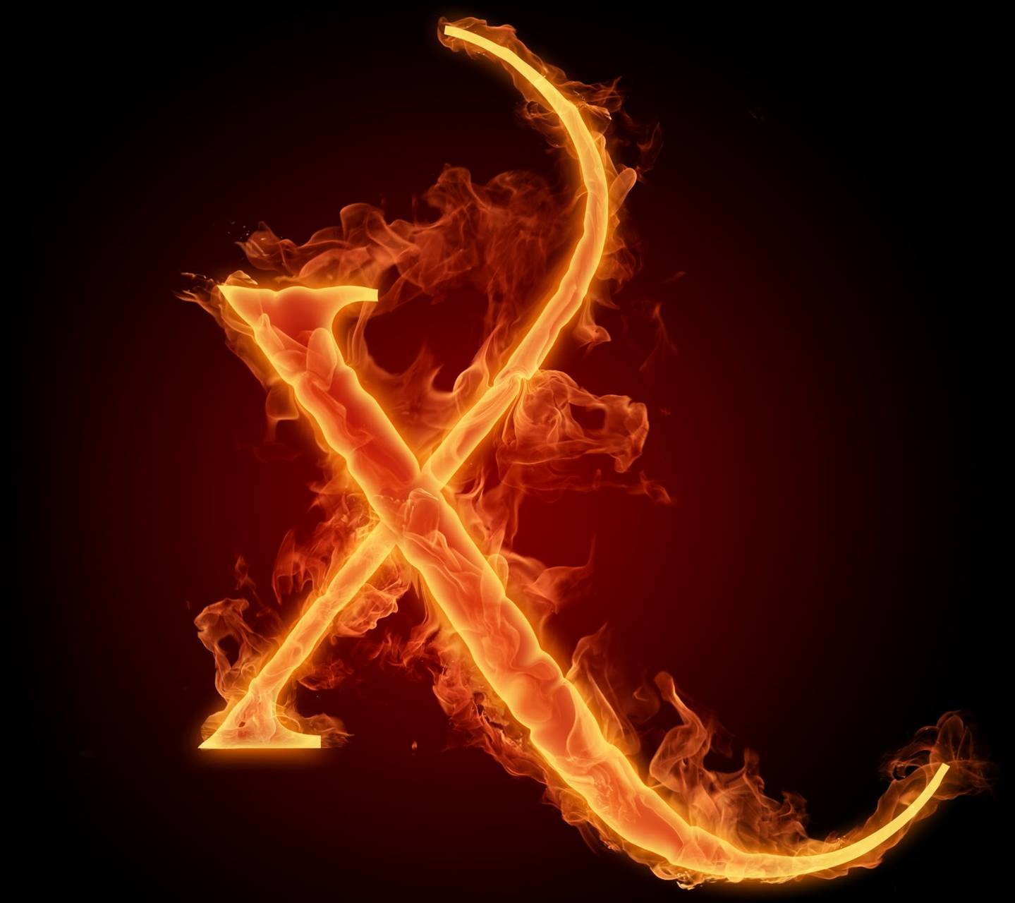 Letter X In Fire Hd