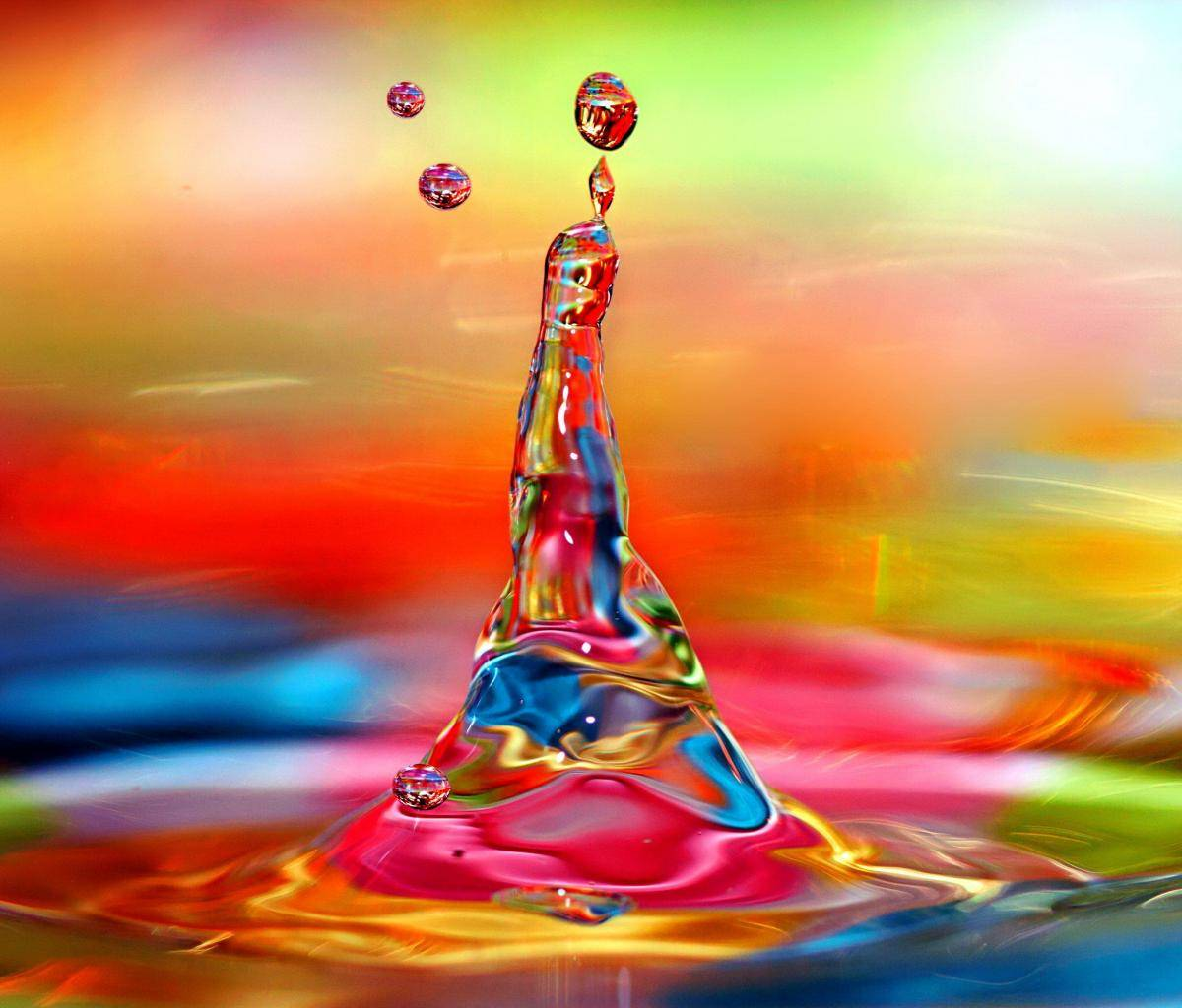 Colorful Water