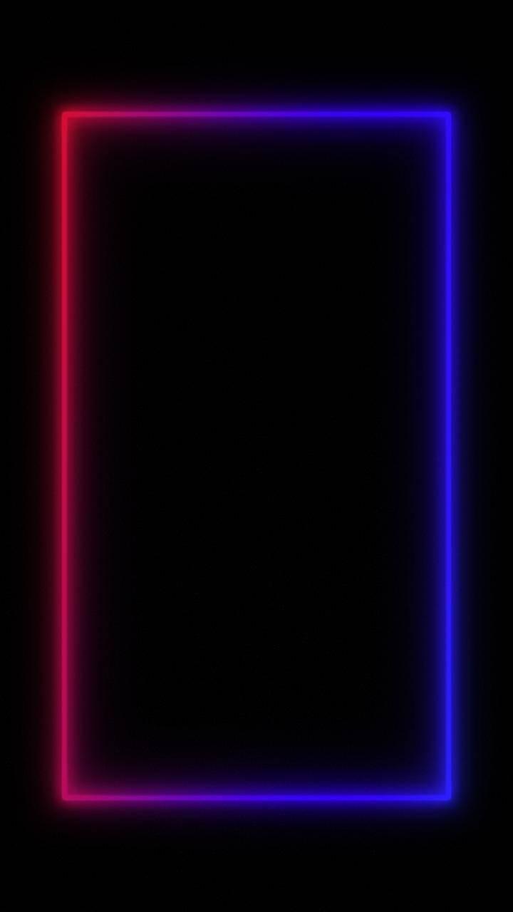 Neon Frame Edge wallpa...