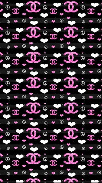 Chanel heart logo