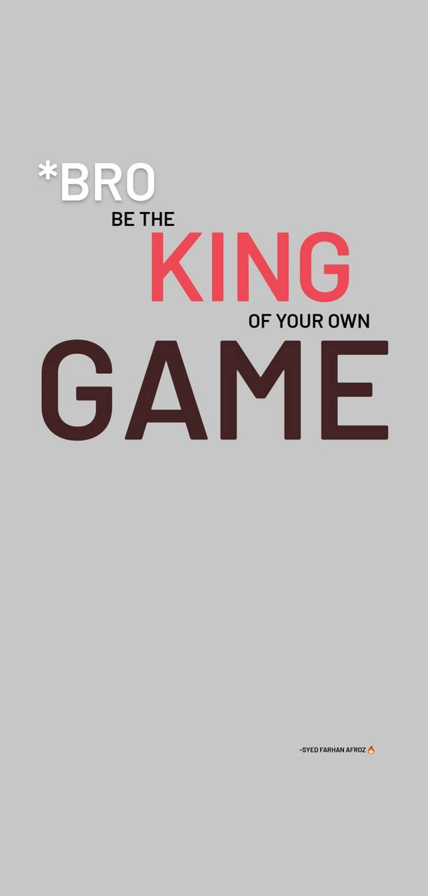 Be the King