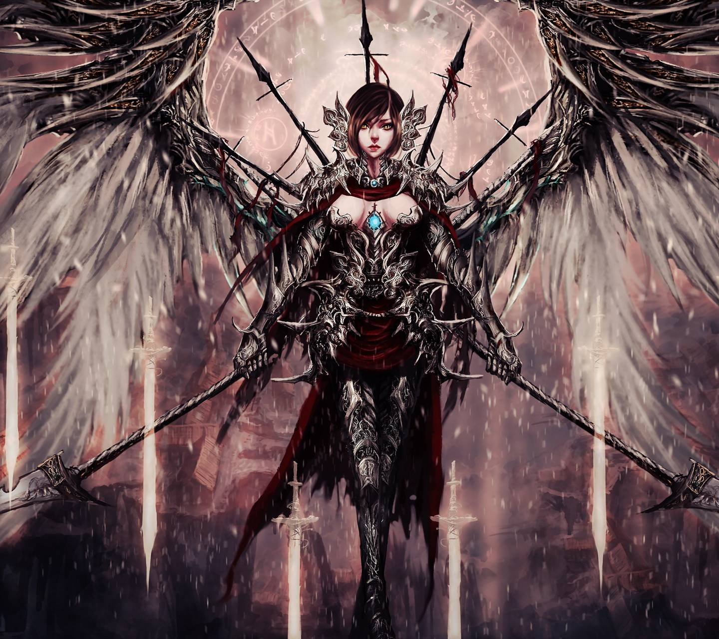 Angel with Spears