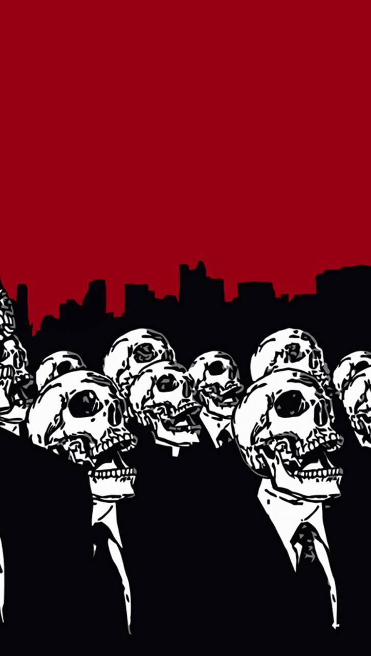 Skull anonymous