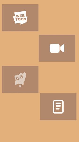 Brown icons 8