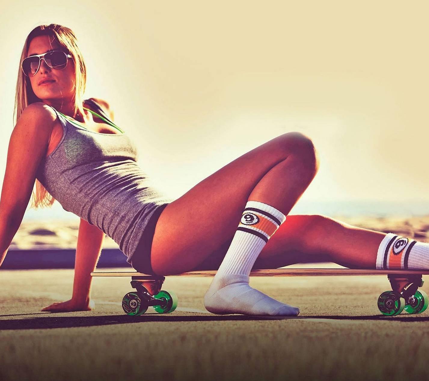 woman in skate