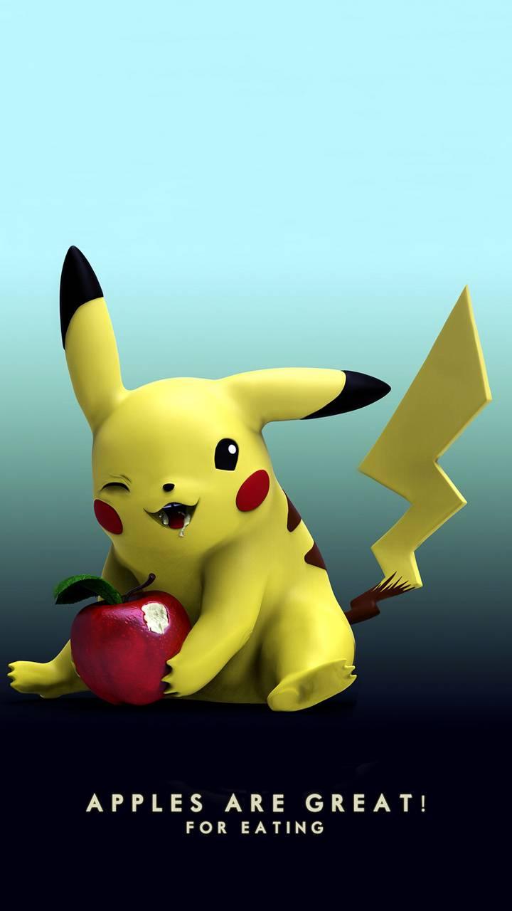pikachu apple