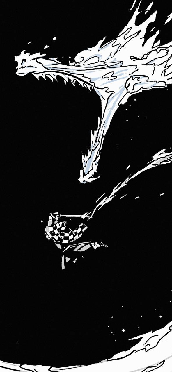 Demon Slayer Wallpaper Black And White Anime Wallpaper Hd Клинок, рассекающий демонов / blade of demon destruction.