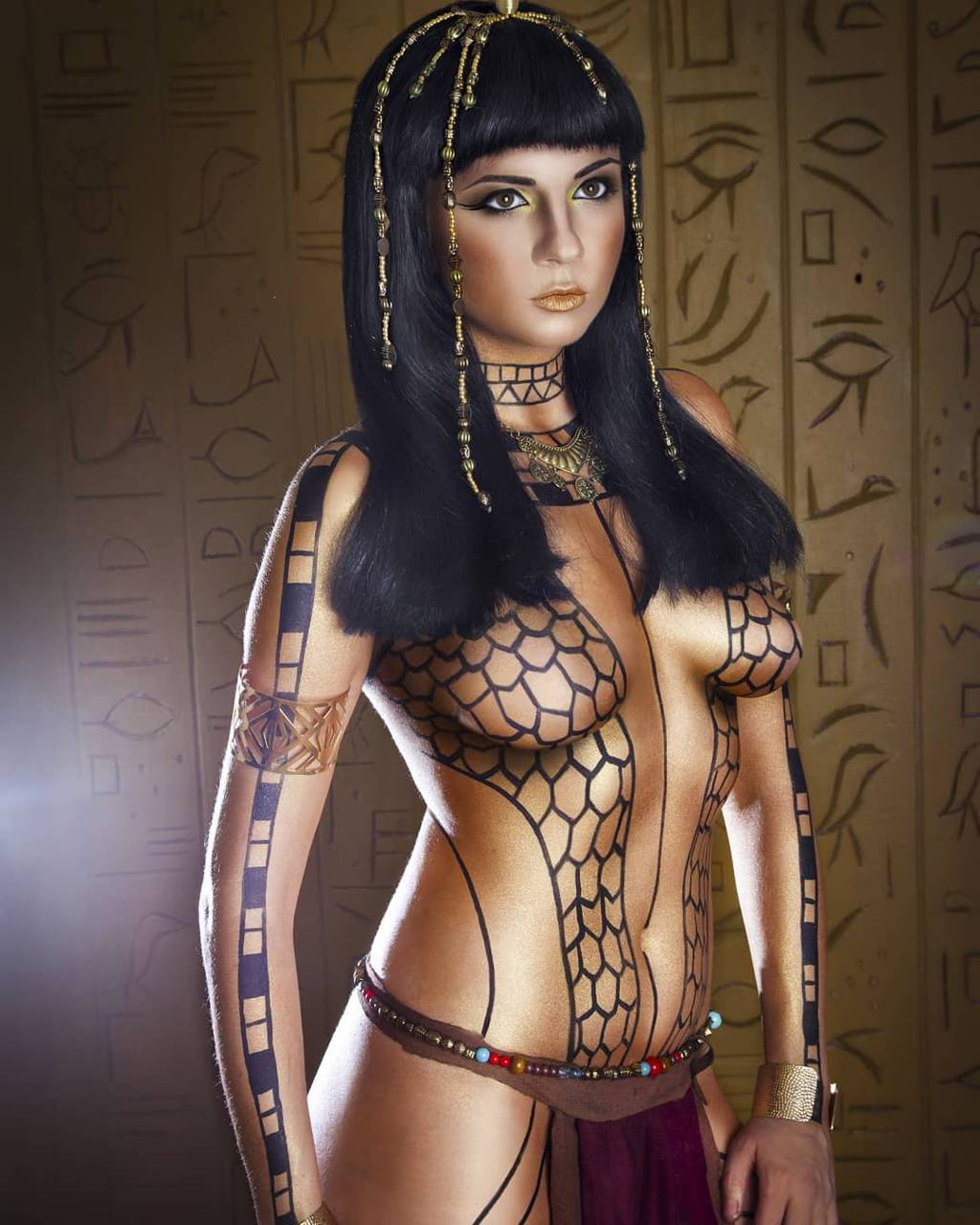 Naked asian egyptian women
