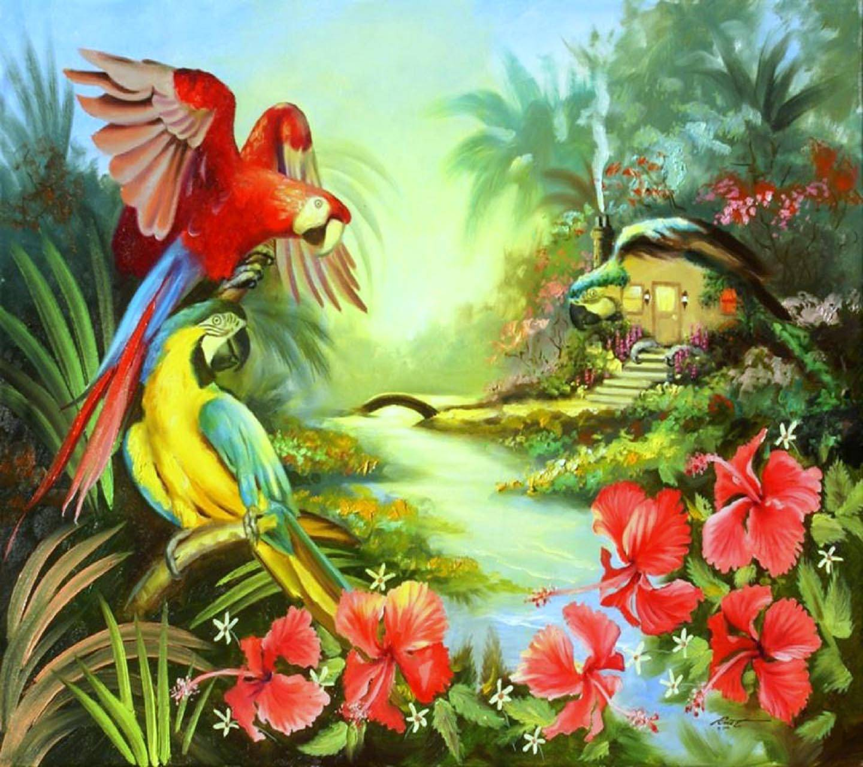 Macaw Hut