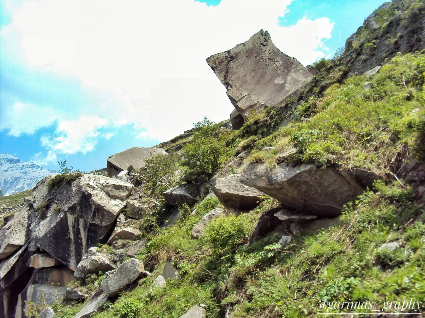 Hills Rock slide
