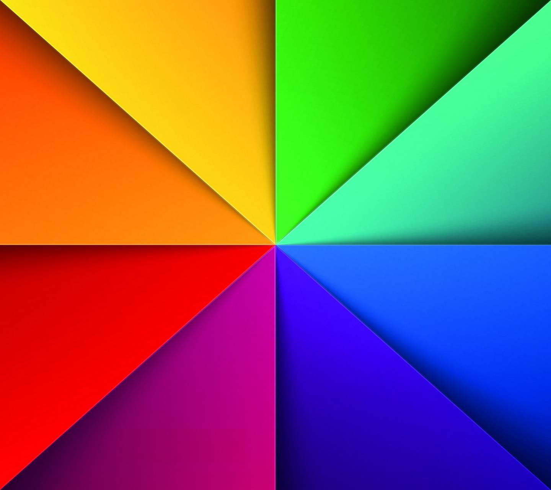 Rainbow Paper Layers