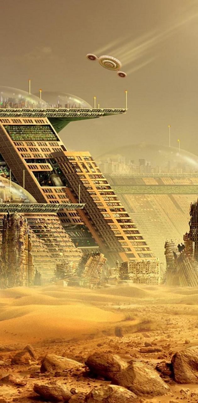 Futurisctic City QHD