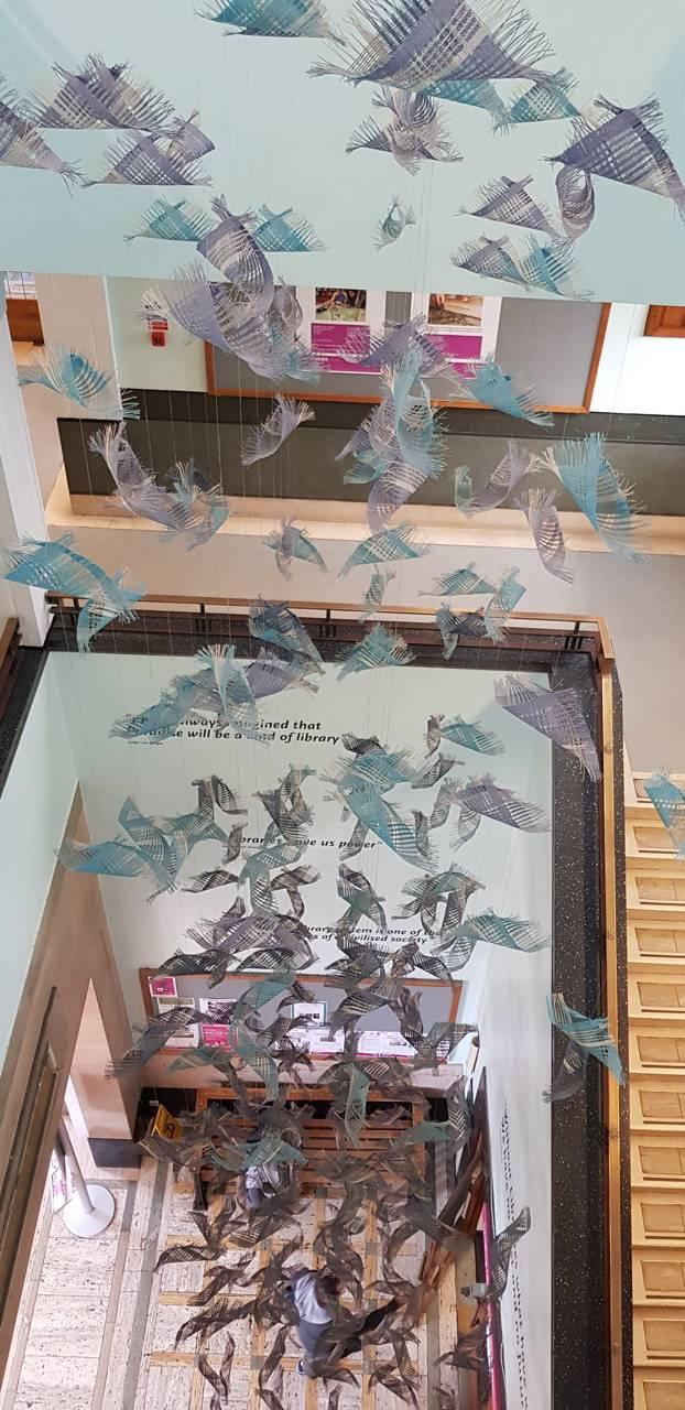 Paper Blue Birds