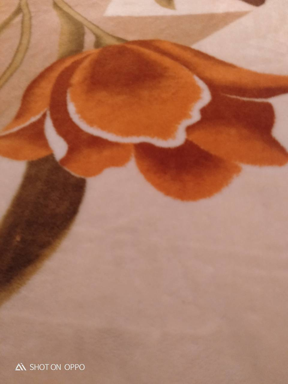 Upside down flower