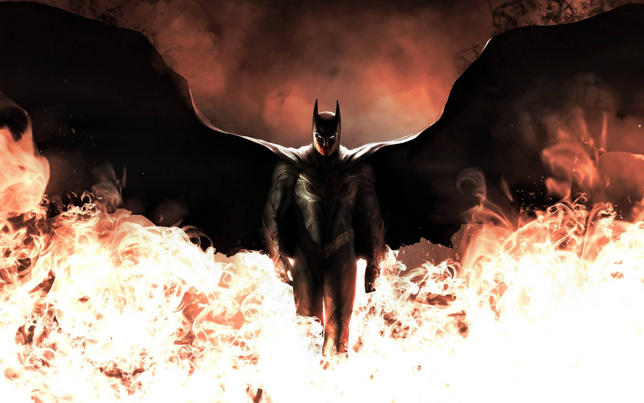 Batman through Fire