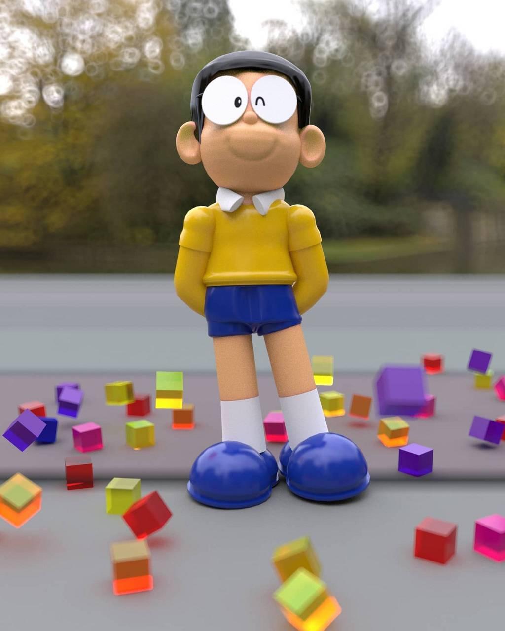 Nobita illustration