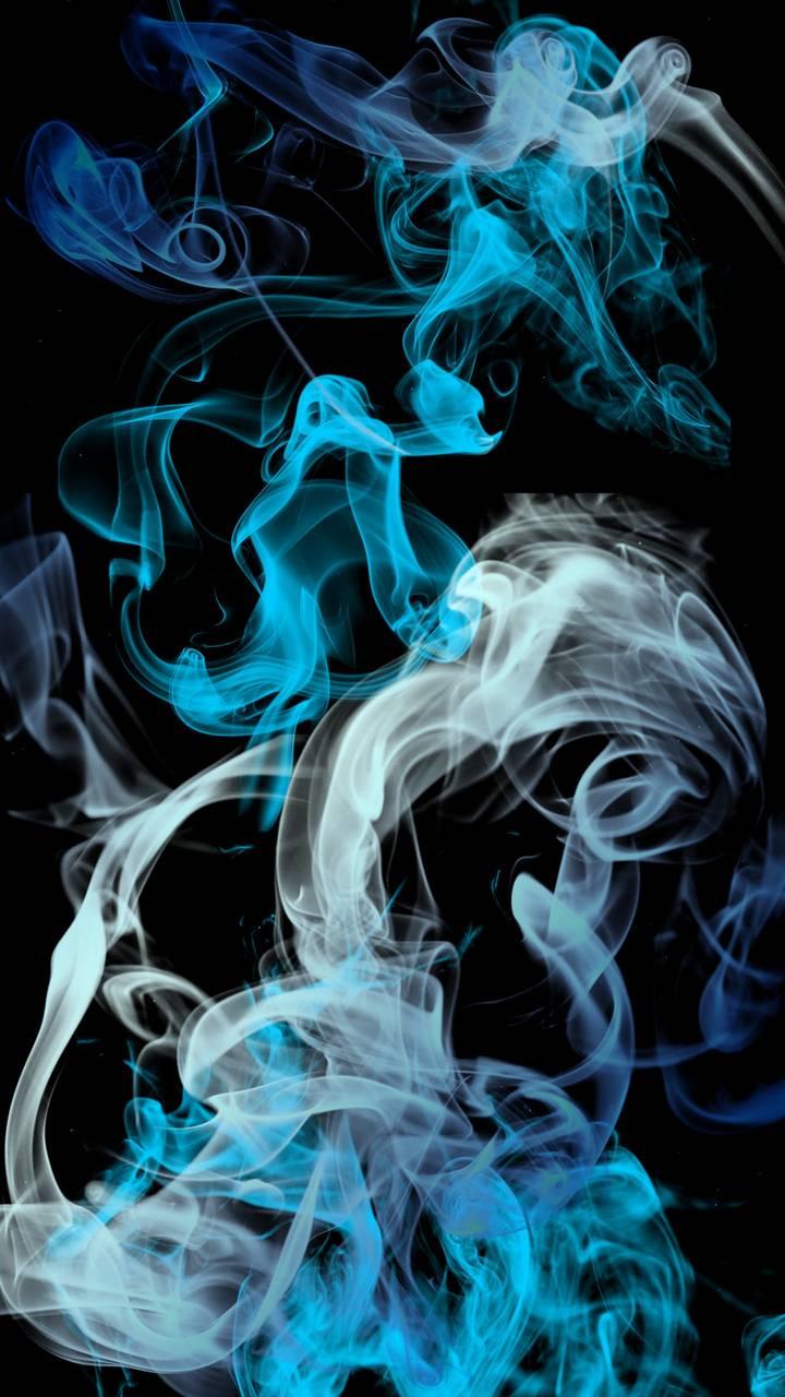 blue grey smoke