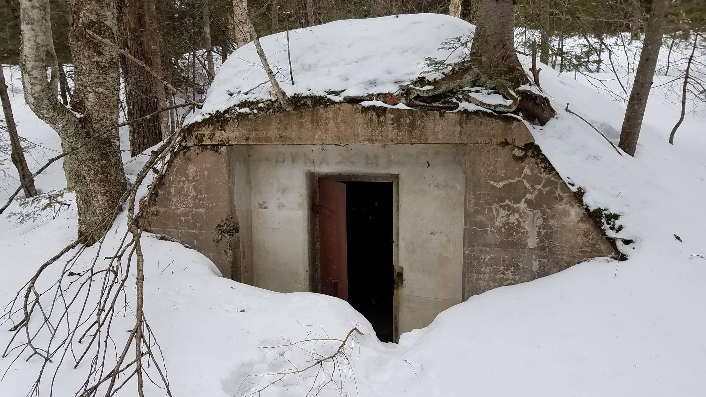 Dynamite bunker