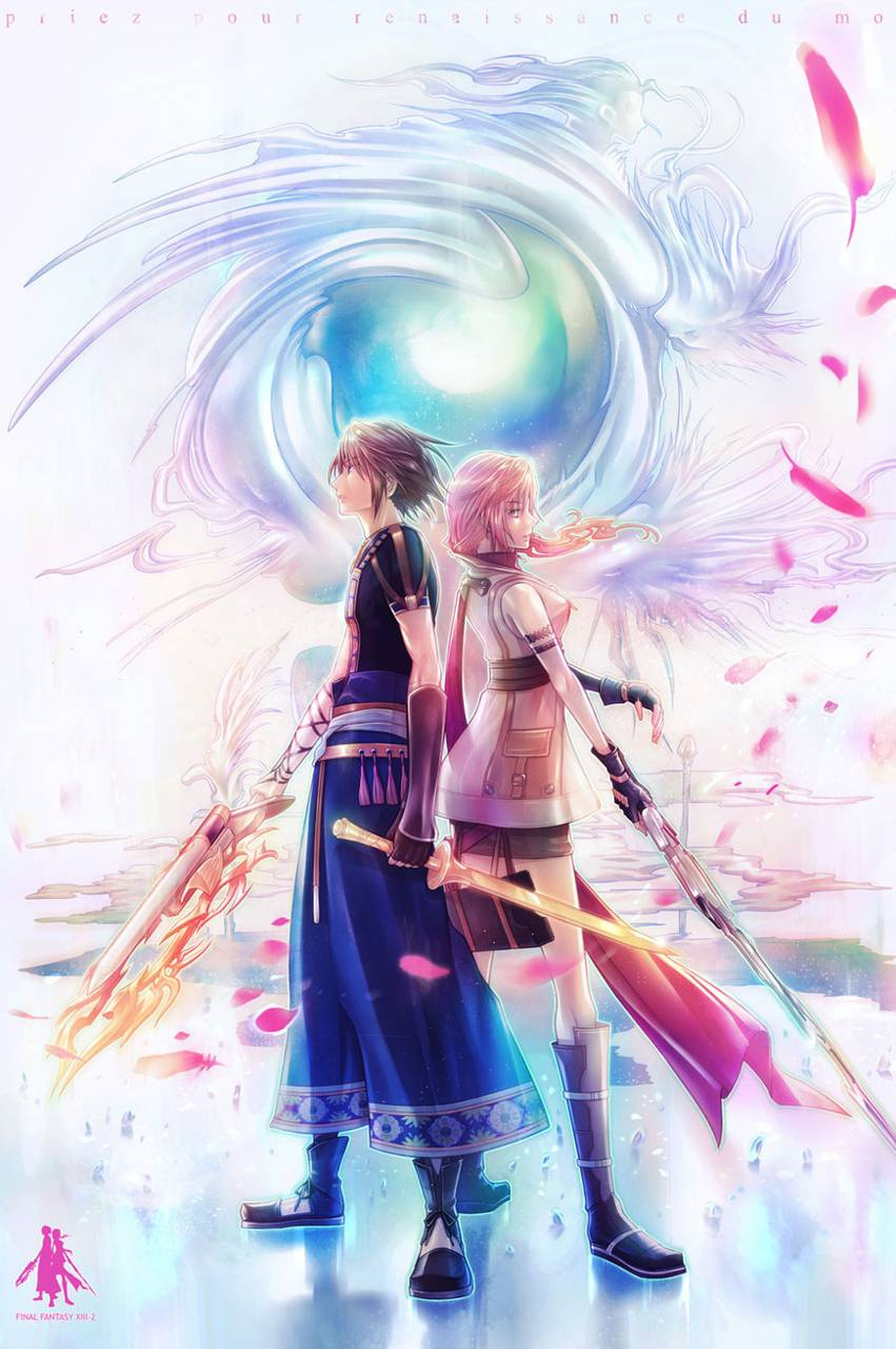 Final Fantasy Xiii 2 Wallpaper By Toxictidus A6 Free On Zedge