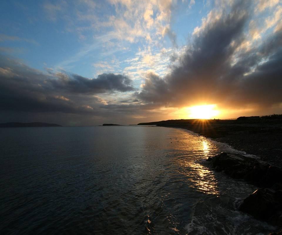 Sunset Horizon Bay