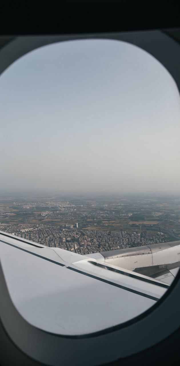 aeroplane view