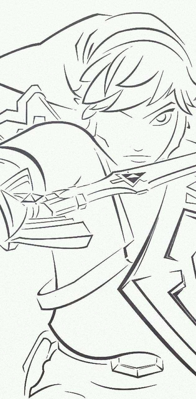 Legend of Zelda Drwn