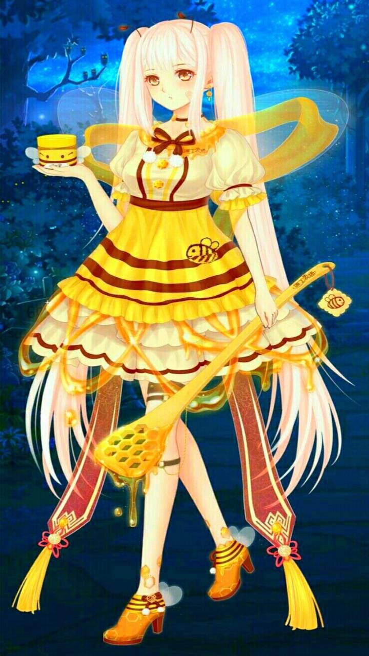 Golden Honey Girl