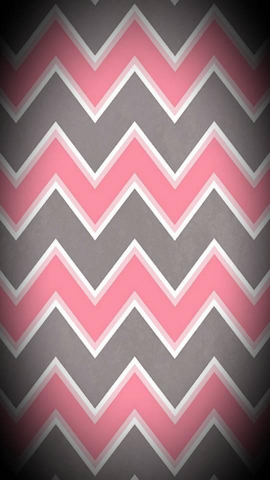 pink cheveron