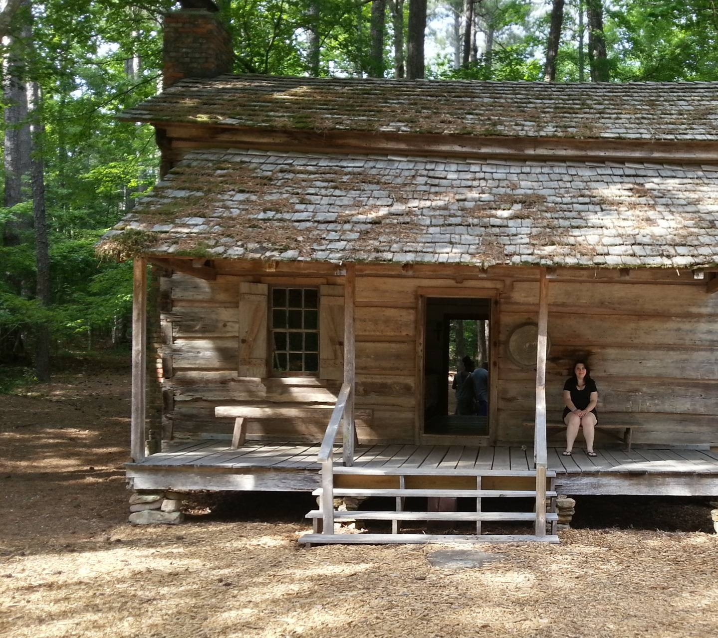 Log Cabin From 1800s