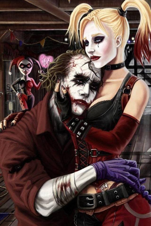 Joker Harley Quinn wallpaper by