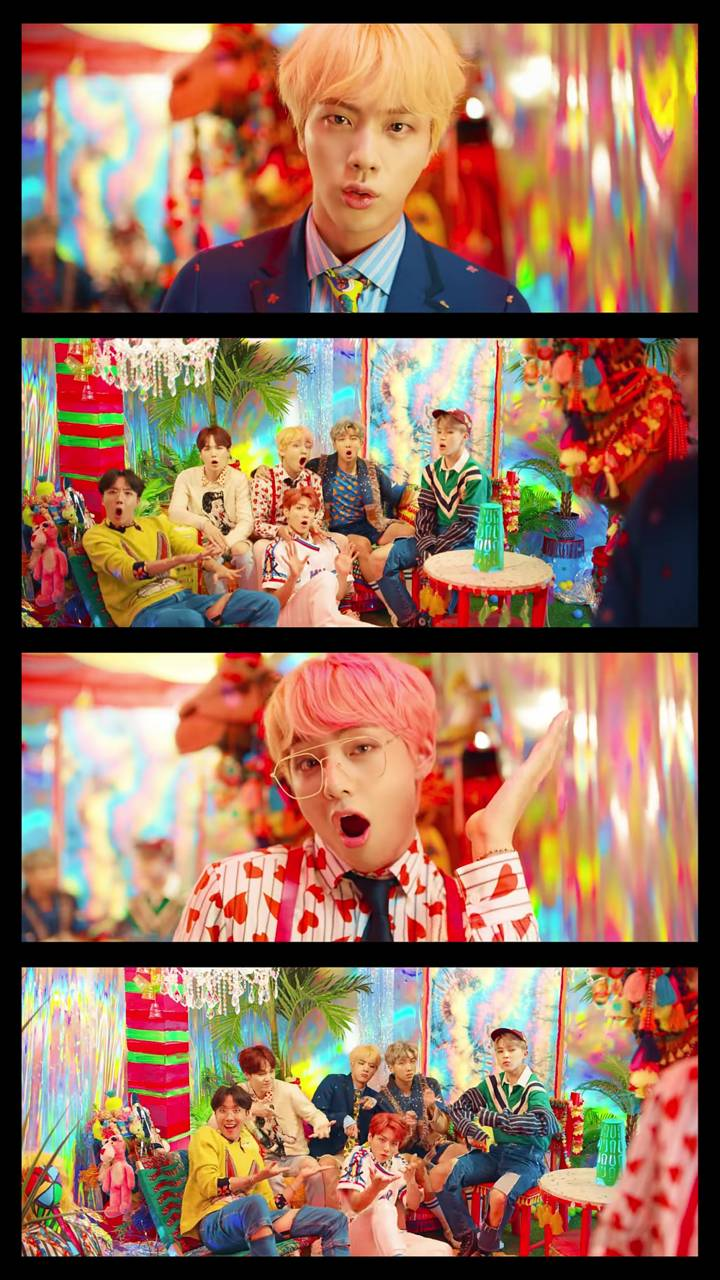 BTS IDOL MV