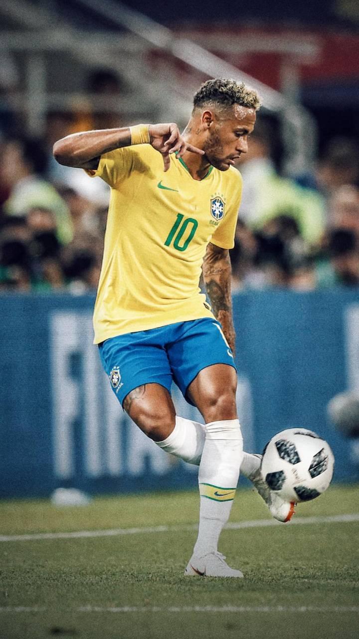 Neymar jr touch ball