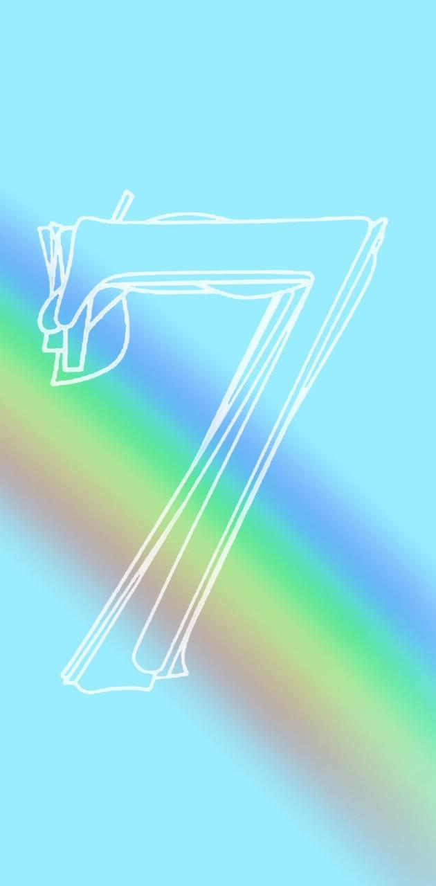 BTS rainbow