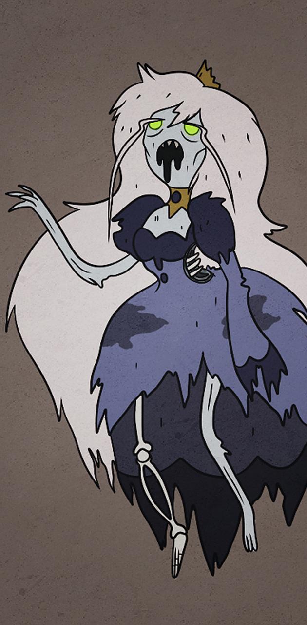 Zombie ice queen