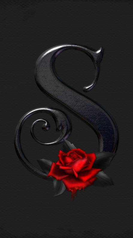 Letter S Rose
